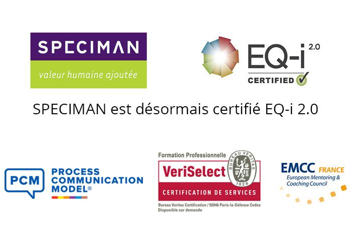 SPECIMAN Est Certifié EQ-i 2.0